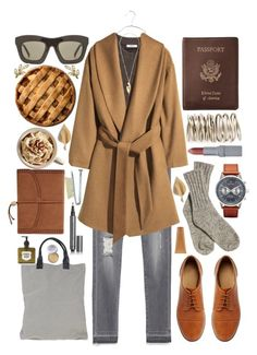 """""""Priscilla"""" by living-colorfully ❤ liked on Polyvore featuring Triwa, Cheap Monday, ASOS, Zara, Madewell, H&M, Royce Leather, Kelly Wearstler, T. LeClerc and Burberry"""