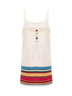 Vestido Mini - Cris Barros Mini - Bege - Shop2gether