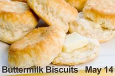 Buttermilk Biscuits are the best. I do love them. Breakfast at the Black Bear Cafe in Vegas las month - their buttermilk biscuits are HUGE!