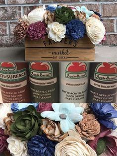 Sola Wood Flowers for DIY crafters, weddings, & home decor. Tissue Flowers, Sola Wood Flowers, Wooden Flowers, Diy Flowers, Fabric Flowers, Paper Flowers, Wood Centerpieces, Flower Centerpieces, Wood Flower Bouquet