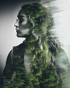 Double exposure by MdRedaPhotography For photography advice visit… Photography Classes, Photoshop Photography, Creative Photography, Portrait Photography, Urban Photography, Color Photography, White Photography, Photomontage, Composition Photo