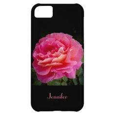 iPhone 5c Case, A Perfect Pink Rose - This iPhone 5c case is decorated with a single, perfect pink rose. What a beautiful complement for your new iPhone. Original photograph by Alan Socolik. All Rights Reserved © 2013 Alan & Marcia Socolik. #Rose #Roses #Pink #iPhone #CasesForIPhone