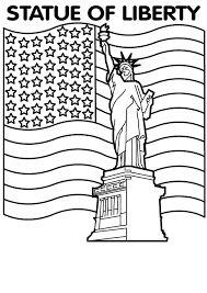 """Résultat de recherche d'images pour """"coloriage statue de la liberté"""""""