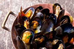 Moules Frites with Optional Wine for Two or Four at Thistle Poole * Seafood Recipes, Cooking Recipes, Tasty, Yummy Food, Food Concept, Seafood Restaurant, Brain Food, Mussels, Fish And Seafood