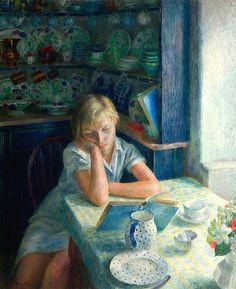 The Quiet Hour - Dod Procter.
