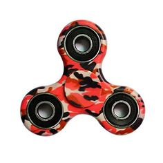 FREAO Tri-Spinner Fidget Hand Spinner Camouflage Multi-Color, EDC Focus Toys For Kids and Adults: Hand spinner: suitable for Adults and…