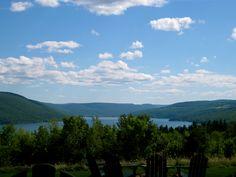 A view of Canandaigua Lake from Bristol Harbor, Bristol, NY.   Photo taken by Erin Santonastaso.