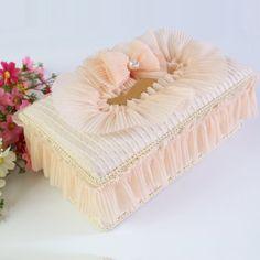 tissues box cover lace - Recherche Google