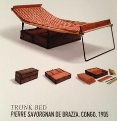 Campaign Furniture: Trunk Bed In A Box, 1905