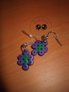 Cosí Cosá: Pendientes con hama beads