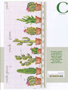 Thrilling Designing Your Own Cross Stitch Embroidery Patterns Ideas. Exhilarating Designing Your Own Cross Stitch Embroidery Patterns Ideas. Cactus Cross Stitch, Cross Stitch Love, Cross Stitch Flowers, Cross Stitch Charts, Cross Stitch Designs, Cross Stitch Patterns, Cross Stitching, Cross Stitch Embroidery, Embroidery Patterns