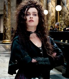 Helena Bonham Carter as Emma Watson as Hermione Granger as Bellatrix Lestrange....and she nailed it.