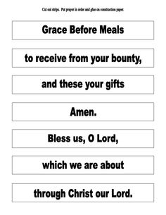 First Communion Activities For A Class