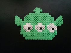 Tsum tsum alien de Toy Story en perles hama