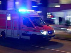 Bundesstraße 73, Landkreis Stade, Polizei, Burweg, Himmelpforten, Kleintransporter, Rettungshubschrauber, Der Wagen