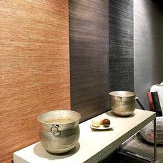 Um tour pelo showroom da #Naru #palha #wallpaper #decor #papeldeparede