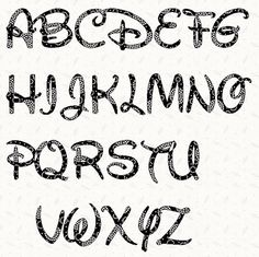 9 Best Images of Large Printable Font Templates - Disney Font Alphabet Letters, Free Printable Large Alphabet Letter Templates and Free Printable Letter Stencils Font Disney Alphabet, Alphabet A, Printable Alphabet Letters, Alphabet Templates, Disney Letters, Stencil Lettering, Lettering Styles, Writing Fonts, Letter Stencils