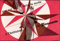 Max Huber - La Rinascente Italian Department Store Advertising (1955)