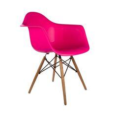 Montmartre Arm Chair in Fuchsia