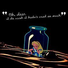 Alice in Wonderland Alicia Wonderland, Alice In Wonderland 1951, Alice And Wonderland Quotes, Adventures In Wonderland, Disney Love, Disney Magic, Disney Pixar, Walt Disney, Alice Quotes