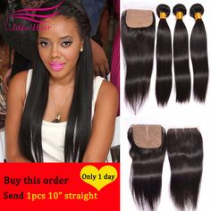 8A Hot silk base closure with bundles rosa hair products with closure peruvian straight hair bundles with silk base closure -  http://mixre.com/8a-hot-silk-base-closure-with-bundles-rosa-hair-products-with-closure-peruvian-straight-hair-bundles-with-silk-base-closure/  #HairWeftClosure(Bang)