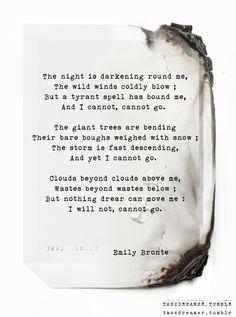 Spellbound - Emily Bronte
