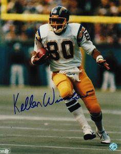 Autographed Kellen Winslow San Diego Chargers 8x10 Photo