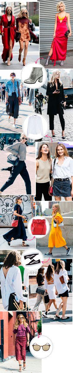 os looks das fashion weeks de 2016 mais pinados
