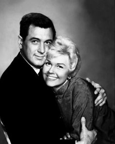 Photo of Rock Hudson and Doris Day for fans of Rock Hudson.