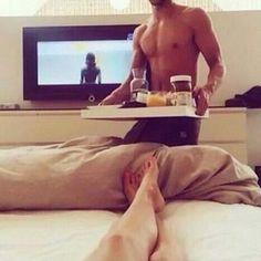 64 ideas breakfast in bed for boyfriend love Couple Magazine, Couple In Love, My Love, Couple Bed, Couple Ideas, Couple Pics, Perfect Couple, Perfect Man, Cute Relationships