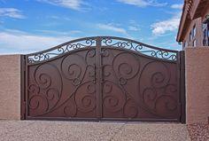 Beautiful privacy gate