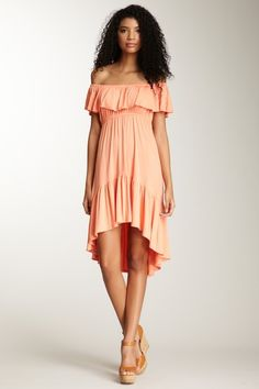 James & Joy Ruffle Dress - This would be cute on so many body types, especially curvy :)