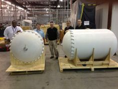 Lockheed Martin and RedEye have 3D-printed two rocket fuel tank prototypes, the biggest of which is 6.75 ft. long. The project took much less time than traditional manufacturing methods, at about half the cost. The tanks were printed in pieces of a polycarbonate material using a Stratasys Fortus 900mcs. (Source: RedEye)