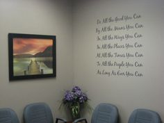 Waiting Area at Bee Cave Chiropractic