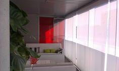 Proteccion sola con tejido #screen s2 3% de apertura, en terraza exterior