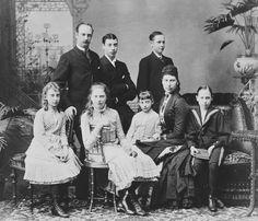 Frederick, Lovisa and children