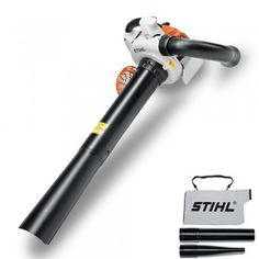 Stihl  SH 86 C-E petrol garden leaf blower vacuum shredder £249 How big is the bag