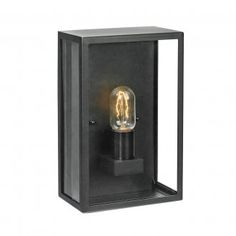 Shop Lighting Collective for Outdoor Wall Lights. This modern style mounted exterior wall light is perfect for lighting up your front entrance, exterior pathways or your porch. Outdoor Box, Outdoor Garden Lighting, Outdoor Walls, Lofoten, Flush Ceiling Lights, Wall Lights, Wall Lamps, Pillar Lights, Lighting Superstore
