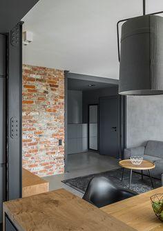 Brick Cladding, Brickwork, Brick Feature Wall, Brick Wall, Red Brick Tiles, Cleveland House, Modern Mountain Home, Interior Architecture, Interior Design