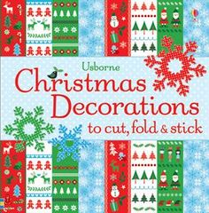 Christmas Decorations to cut, fold and stick. Regular price $9.99, on sale until 12/17 for $6! Follow the link for more information and contact me to order. While Supplies Last!