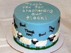 Tiers of Joy Cakery: Sheep Cake