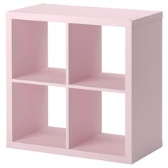 KALLAX Shelving unit - light pink - IKEA