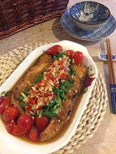 Try this quick and easy chinese fish recipe from happy foodie new pan fried fish with thai sauce forumfinder Image collections