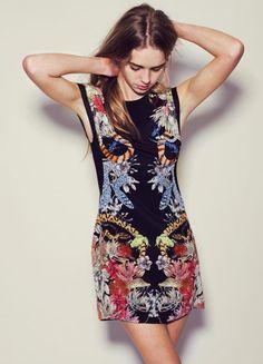 Dress & print - Sara Phillips