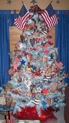 I want a patriotic tree .....
