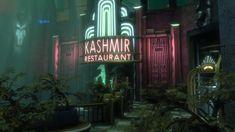 ArtStation - BioShock (Irrational Games), Digital Frontiers Bioshock Game, Bioshock Series, Dystopian Art, Bioshock Rapture, Restaurant Entrance, World's Columbian Exposition, Underwater City, Beyond The Sea, Colors