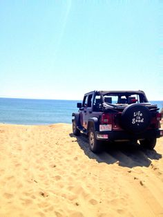 How i miss summer and my top off. My jeep top ;)