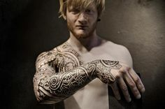 Viking tattoos by Peter Walrus Madsen (DK)                                                                                                                                                                                 More
