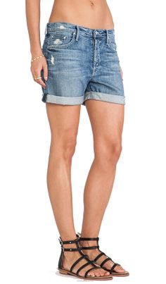 MOTHER The Loosey Short in Hooked Destroyed | REVOLVE