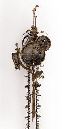 Wall Tattoo Clock With Clockwork Wall Clock Bathroom Hai Slogan